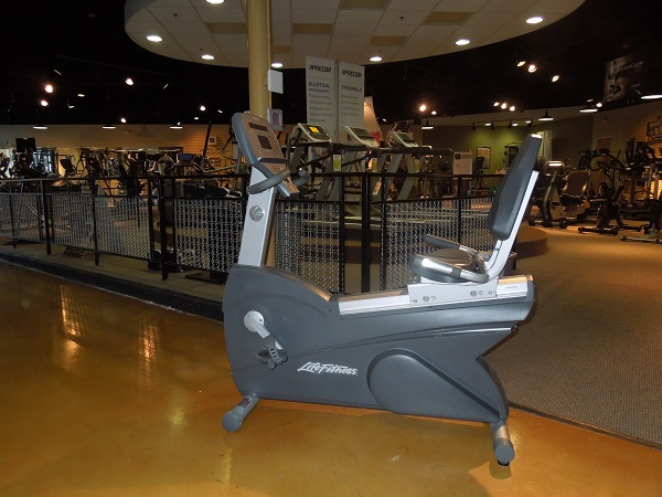 Life Fitness Integrity Recumbent Bike-Used (ISIUCLSR4)SOLD!